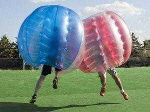 Fútbol Burbuja en despedidas