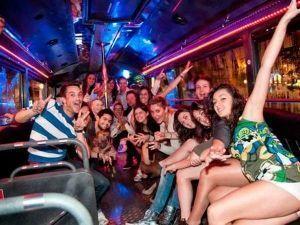 Transporte PartyBus en Madrid