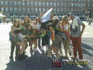 Gymkana para despedidas en Madrid